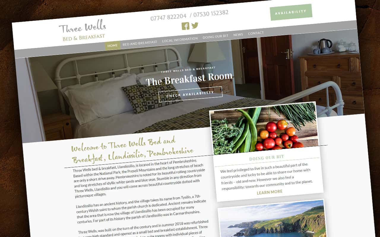 Three Wells Bed and Breakfast