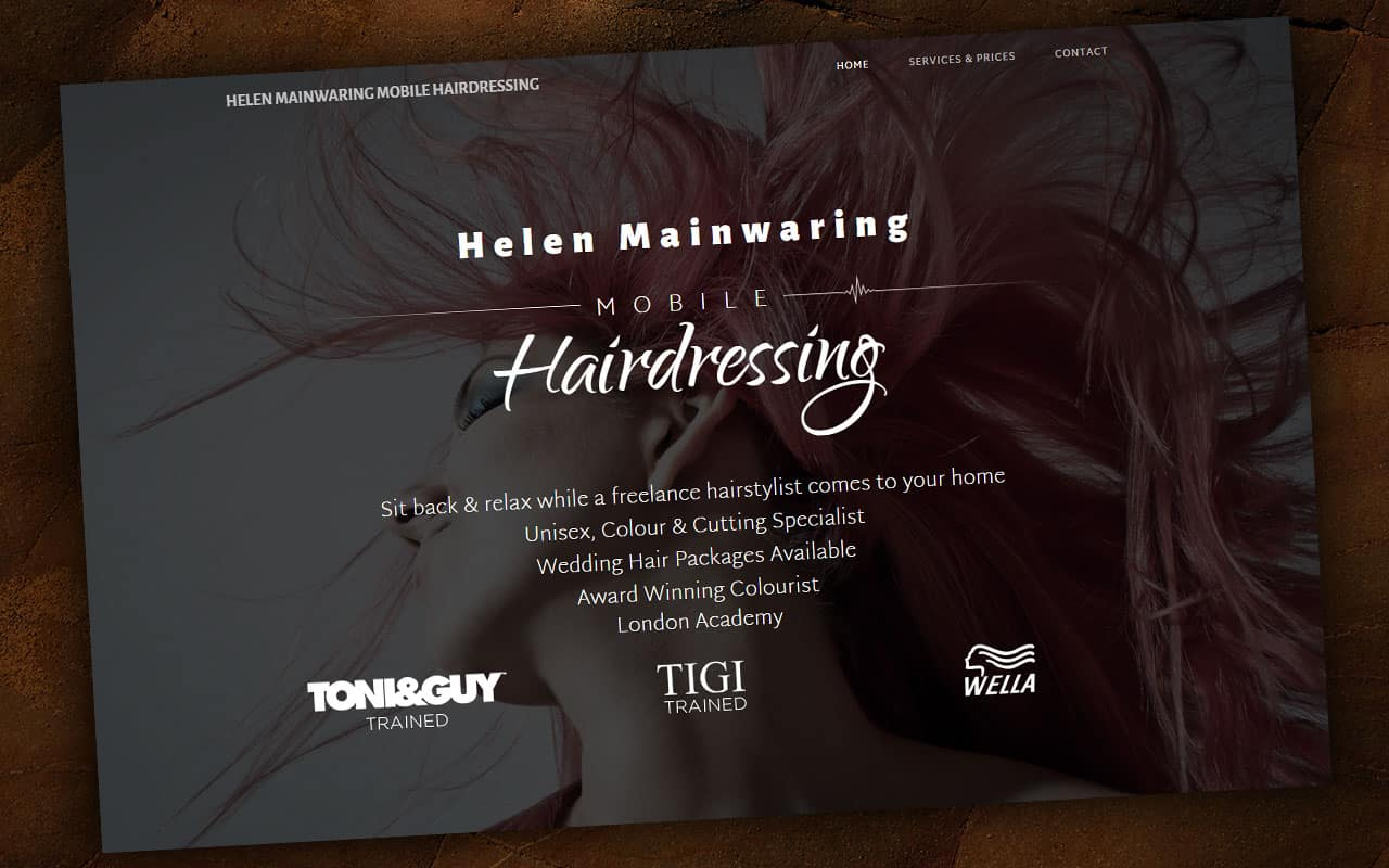 Helen Mainwaring Mobile Hairdressing